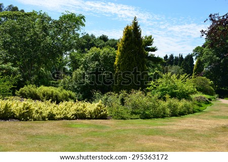 English Landscaped Gardens In Summertime. Part 92