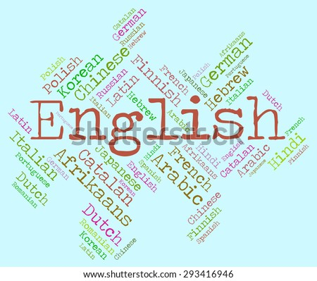 English Language Meaning Britain Speech And Translator