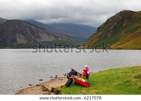 Ennerdale Water, Lake District, England