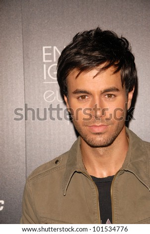 """Enrique Iglesias  at the Enrique Iglesias """"Euphoria"""" Album Release Party Hosted By Target, My House, Hollywood, CA. 07-06-10 - stock photo"""