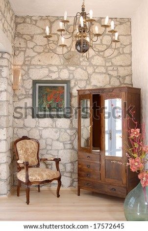 entrance hall - stock photo
