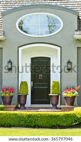 Entrance of a house.