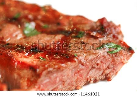 entrecote staek beef - stock photo