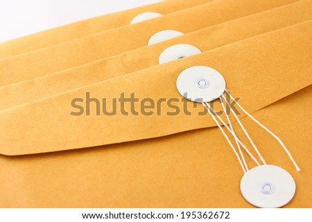 Envelopes - stock photo