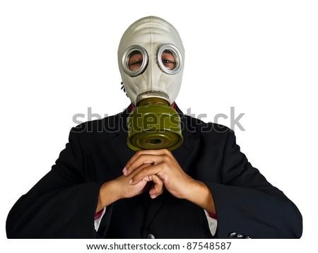 environmentally hazardous corporation - stock photo