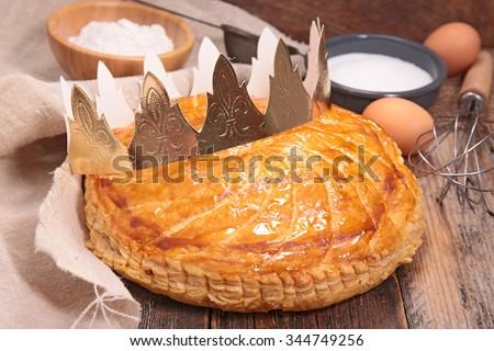 epiphany cake - stock photo