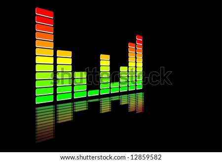 Equalizer - stock photo