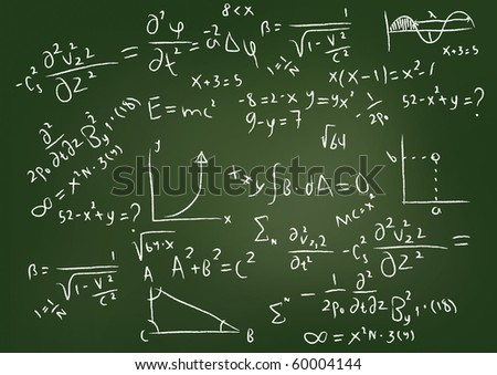 Equations - stock photo