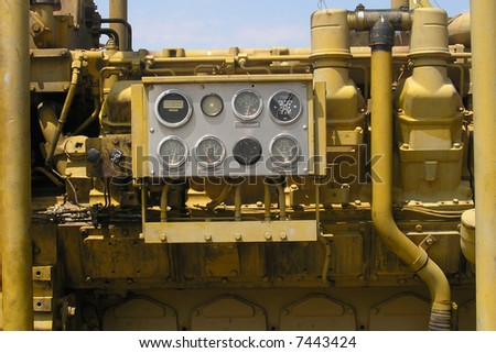 Equipment for oil exploiting