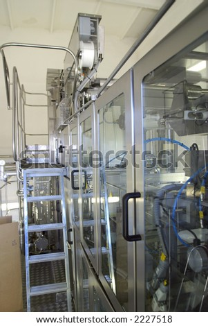 Equipment on production  wine, juice and drink