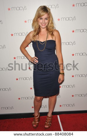 Erica Rhodes at Macy's Passport Glamorama Fashion event at the Orpheum Theatre, Los Angeles. September 16, 2010  Los Angeles, CA Picture: Paul Smith / Featureflash