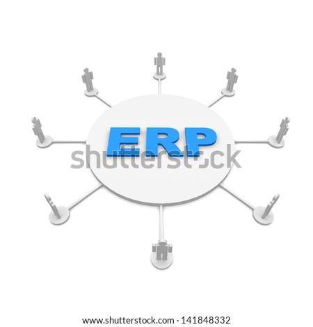 erp - stock photo