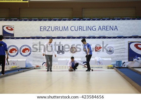 Curling Broom Stock Photos Images Amp Pictures Shutterstock