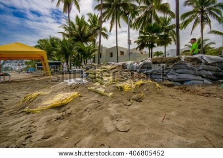 Sandbag bunker stock photos royalty free images vectors - Bunker casa blanca ...