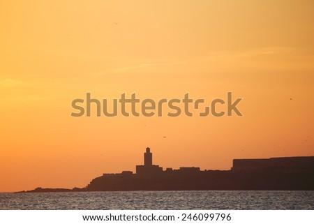 essaoira port of morocco  - stock photo
