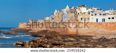 Essaouira, Province Marrakesh-Tensift-El Haouz, Morocco - stock photo