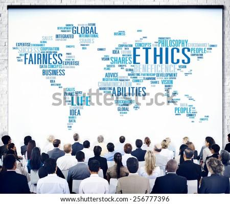 Ethics Ideals Principles Morals Standards Concept - stock photo