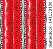 Ethnic ornamental seamless pattern. Raster. - stock photo
