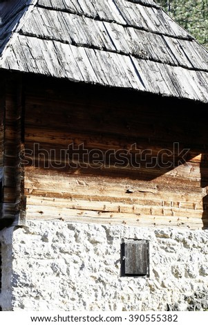 Ethno-village Sirogojno (the Old Village Museum), Zlatibor mountain, Serbia.