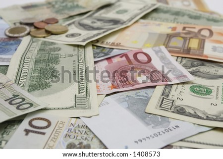 Euro and Dollars