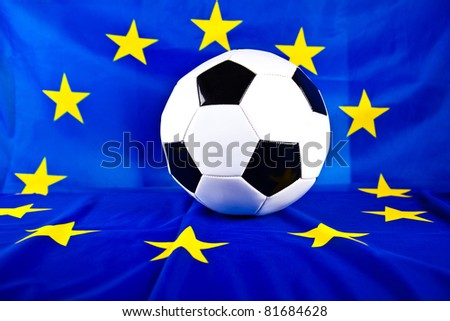 euro 2012 and soccer ball