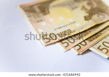 Euro currency/money background/euro exchange