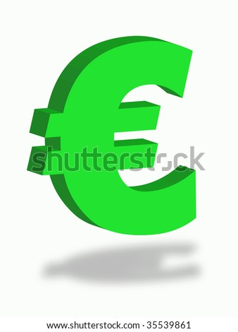 Euro Letter Symbol Money Commerce Stock Illustration 35539861