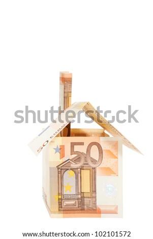 Euro real estate - stock photo
