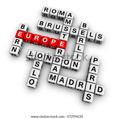 europe  (from crossword series)