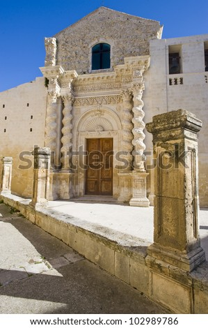 Europe, Italy, Sicily, baroque church in Palazzolo Acreide