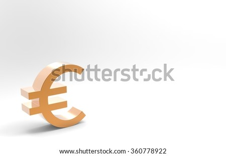Europe money yen Sign/Europe money euro symbol isolated on a white background