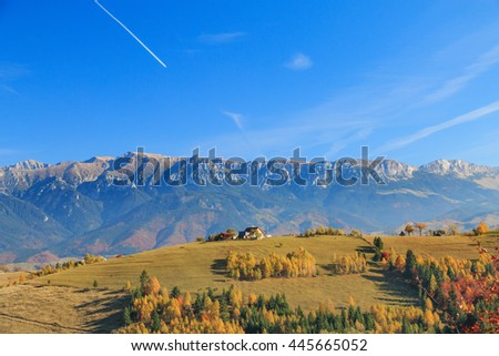 Europe, Romania, Transylvania, Carpathian Mountains, Magura, Piatra Craiului National Park.