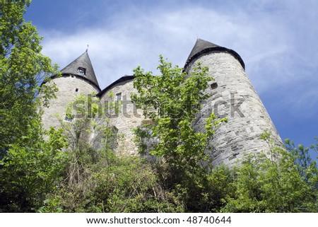 European Castle - stock photo