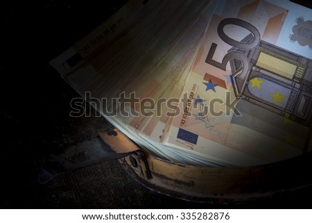 European currency detail