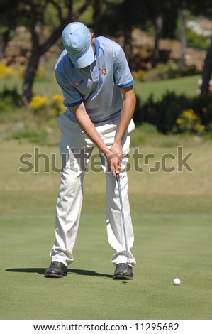European Tour - Estoril Open de Portugal 2008, Oitavos Dunes - Pedro Figueiredo POR