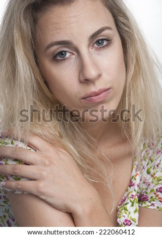 European woman - stock photo