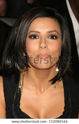 Eva Longoria at day one of the 2007 Mercedes-Benz Fashion Week Fall Collection. Smashbox Studios, Culver City, CA. 03-18-07