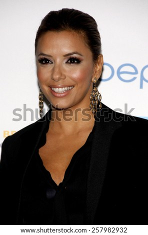 "Eva Longoria at the Los Angeles Premiere of ""Latinos Living the American Dream"" held at the Grauman's Chinese Theater in Hollywood, California, United States on October 21, 2010.  - stock photo"