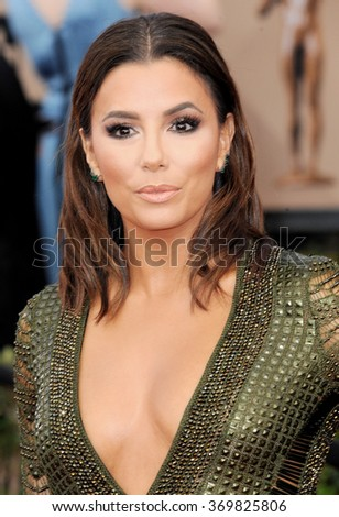 Eva Longoria at the 22nd Annual Screen Actors Guild Awards held at the Shrine Auditorium in Los Angeles, USA on January 30, 2016.