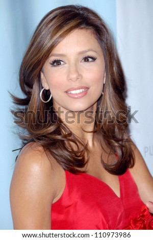 Eva Longoria at the Platinum Guild International With Clothes Off Our Back Party. Luxe Hotel Rodeo Drive, Beverly Hills, CA. 09-12-07 - stock photo