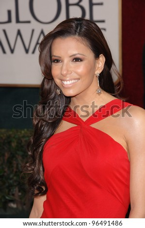 EVA LONGORIA at the 63rd Annual Golden Globe Awards at the Beverly Hilton Hotel. January 16, 2006  Beverly Hills, CA  2006 Paul Smith / Featureflash - stock photo