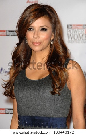 Eva Longoria Parker attending The Hollywood Reporter's Annual Power 100 Women in Entertainment Issue Breakfast, Beverly Hilton Hotel, Beverly Hills, December 4, 2009