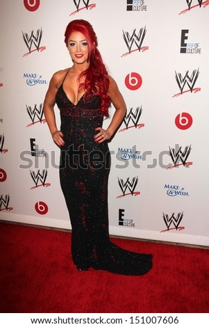 Eva Marie at Superstars for Hope honoring Make-A-Wish, Beverly Hills Hotel, Beverly Hills, CA 08-15-13 - stock photo