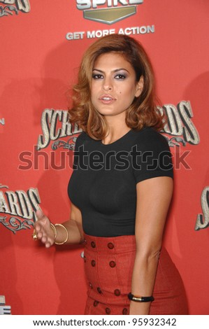 EVA MENDES at the Spike TV Scream Awards 2006 at the Pantages Theatre, Hollywood. October 7, 2006  Los Angeles, CA Picture: Paul Smith / Featureflash