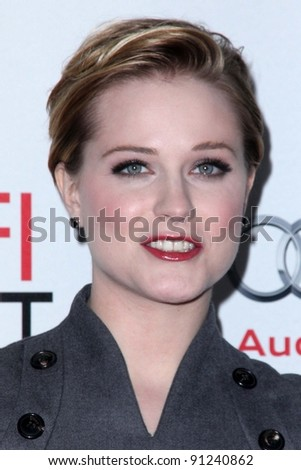 Evan Rachel Wood at the Los Angeles Times Young Hollywood Panel, Chinese Theater, Hollywood, CA 11-04-11