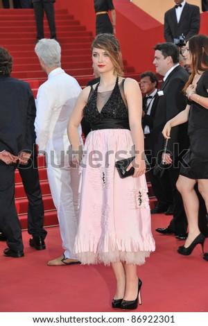 "Eve Hewson (daughter of Bono) at the premiere of her new movie ""This Must Be The Place"" in competition at the 64th Festival de Cannes. May 20, 2011  Cannes, France Picture: Paul Smith / Featureflash"