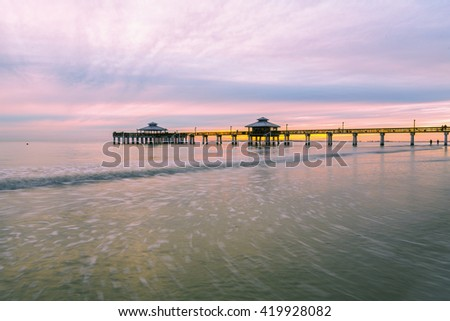 Stock photos royalty free images vectors shutterstock for Fort myers beach fishing