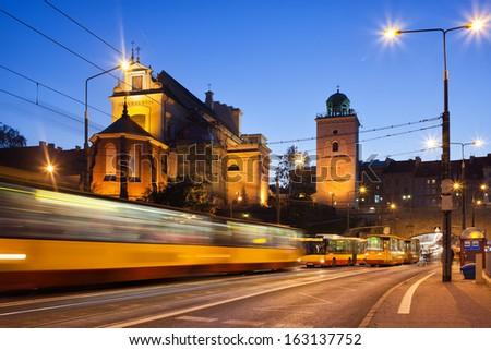 Urban plan Warsaw Warszawa Poland