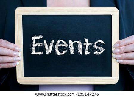 Events - stock photo