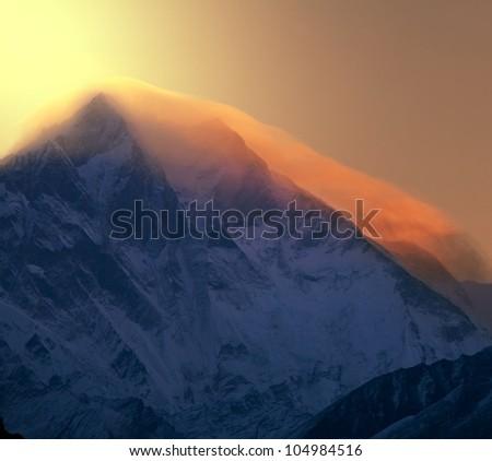 Everest - stock photo